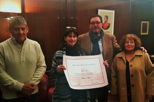 El Senado Nacional distinguió a una docente local
