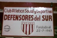 Desvalijaron el club Defensores del Sur