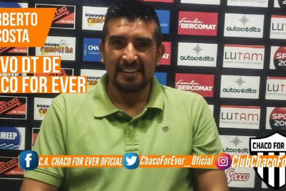 Chaco For Ever contrató a Norberto Acosta
